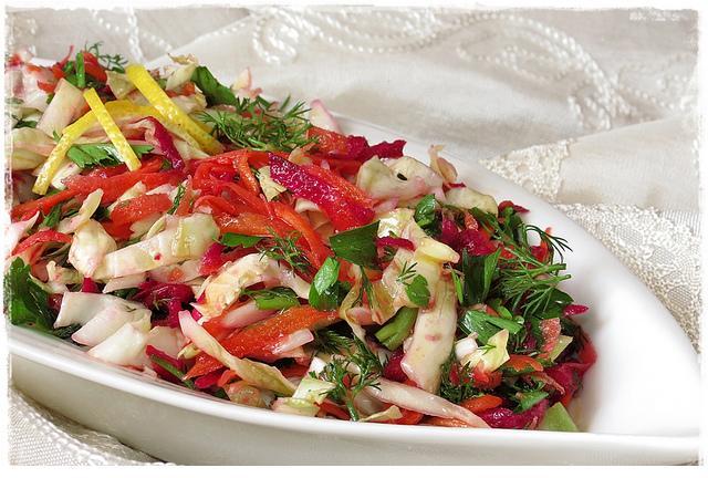 kırmızı pancar kış salatası