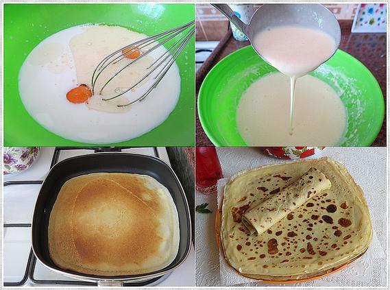 kahvaltılar için krep tarifi