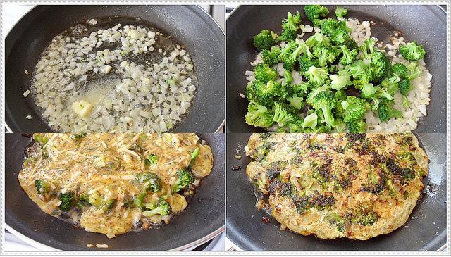 kahvaltılar için omlet tarifi