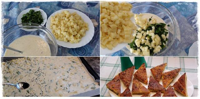kahvaltılar için patatesli kek tarifi