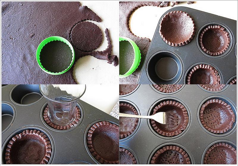 kakaolu meyveli tart