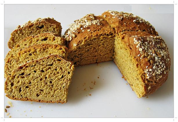 mayasız tahıllı ekmek