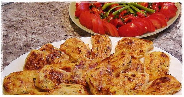 patatesli sarma börekler