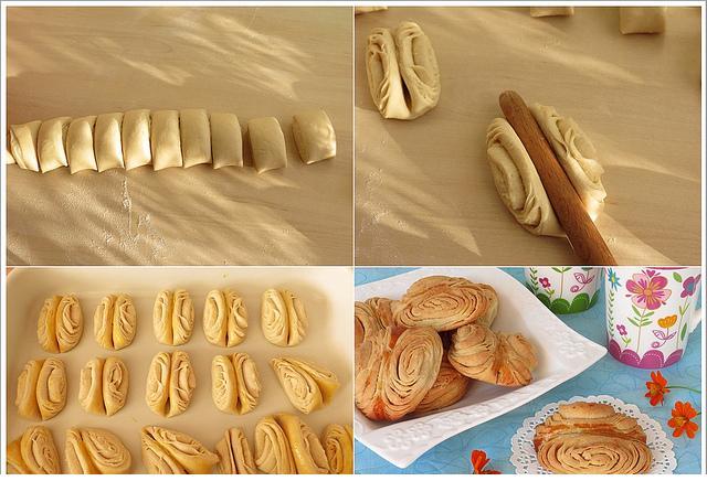 pekmezli oklava çöreği tarifi