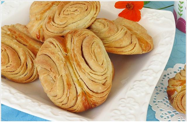 pekmezli oklava çöreği