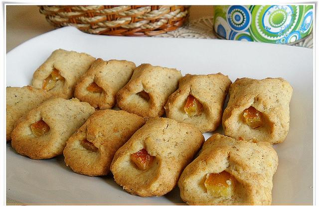 portakallı tatlı kurabiye