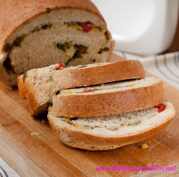 sebzeli ekmek tarifi