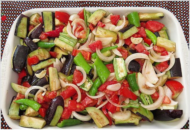 sebzeli fırın yemeği