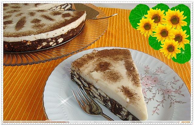 tarçınlı mozaik pasta