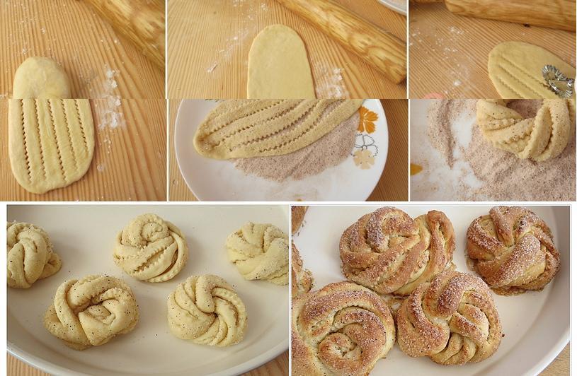 tarçınlı tatlı ay çöreği