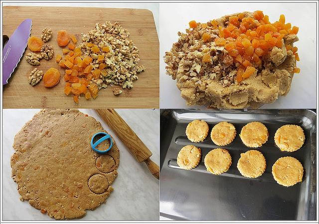 yulaf unlu kayısılı kurabiye tarifi