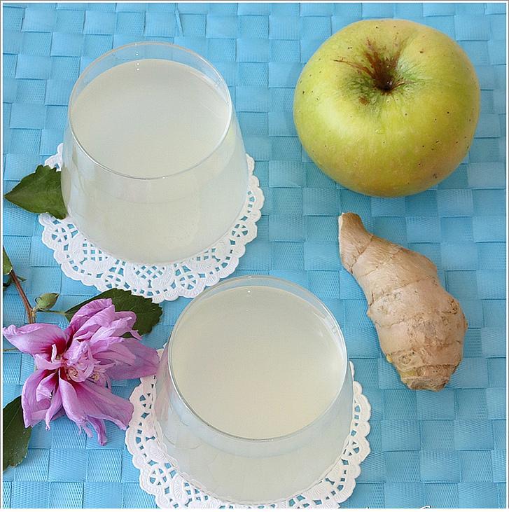 zencefilli elma suyu tarifi
