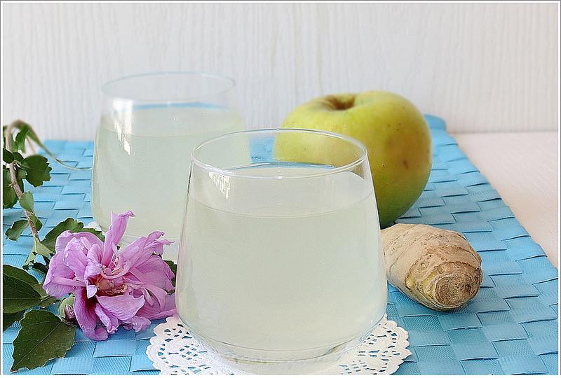 zencefilli elma suyu